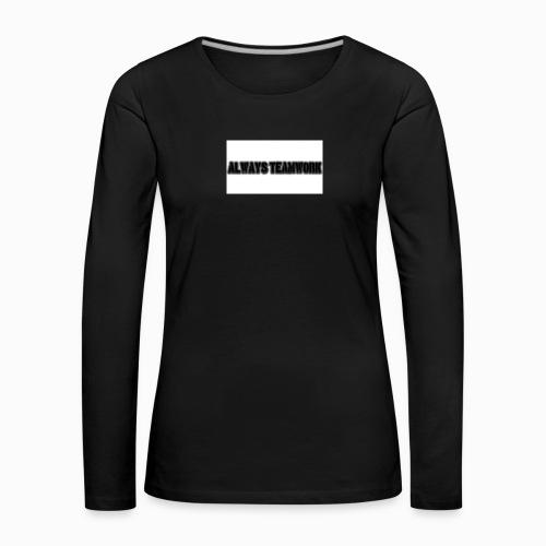at team - Vrouwen Premium shirt met lange mouwen