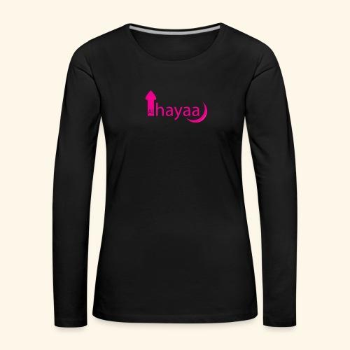 Al Hayaa - T-shirt manches longues Premium Femme