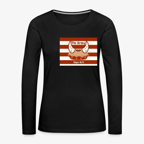 Pie Army - Women's Premium Longsleeve Shirt