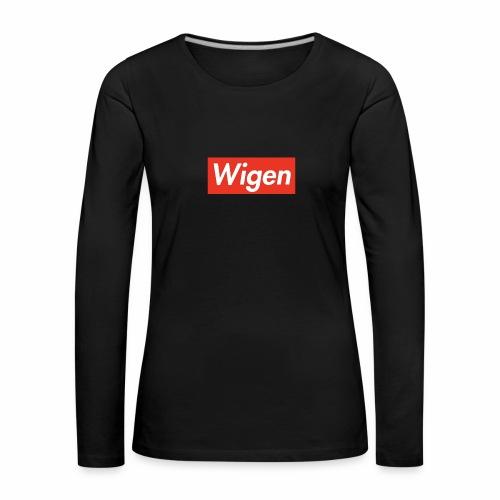 FD9D7801 A8D2 4323 B521 78925ACE75B1 - Långärmad premium-T-shirt dam