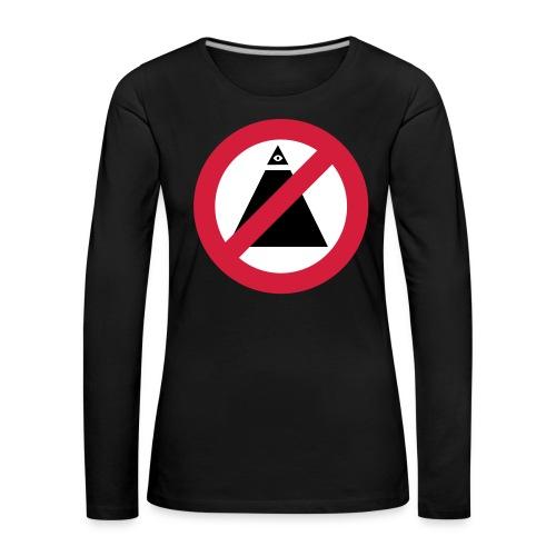 No-Illuminati - T-shirt manches longues Premium Femme
