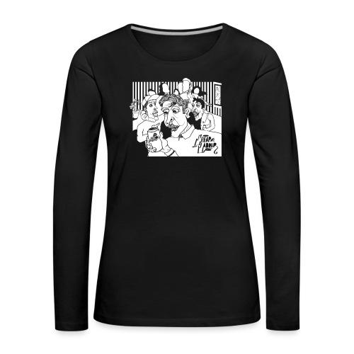 Cheap Labour Album Cover - Långärmad premium-T-shirt dam