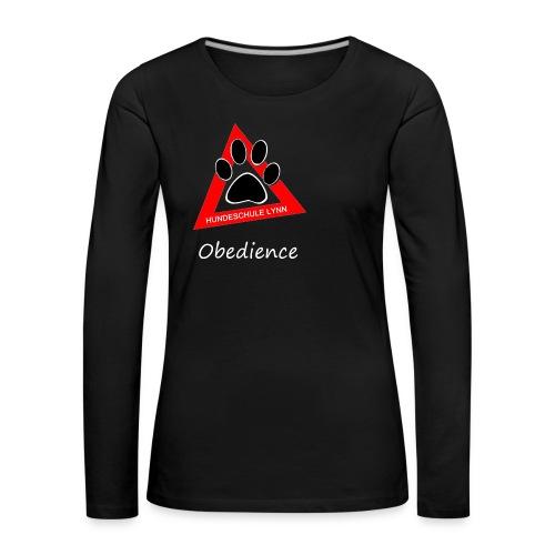 HuSchudunkelObe - Frauen Premium Langarmshirt