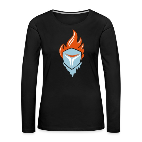 Fire and Ice 3C - Frauen Premium Langarmshirt