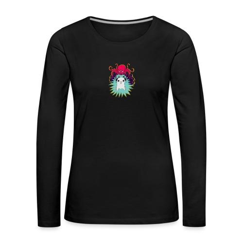 Leave Me Alone - Koszulka damska Premium z długim rękawem