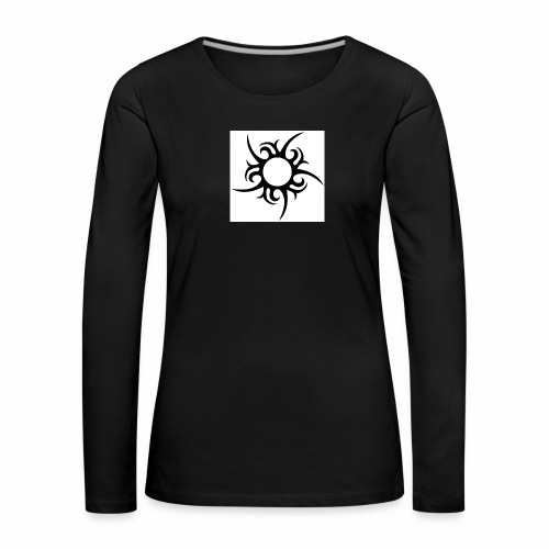 tribal sun - Women's Premium Longsleeve Shirt