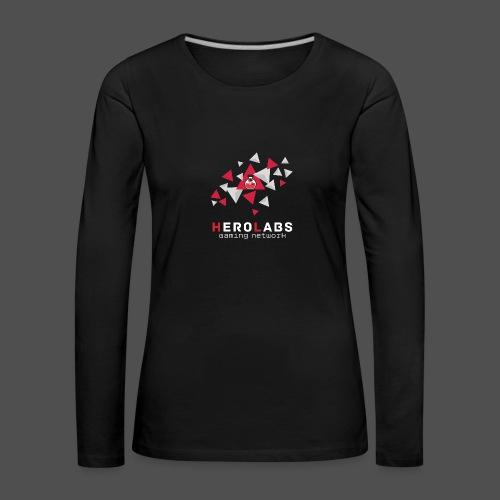 triangle_vector_3_4000x40 - Frauen Premium Langarmshirt