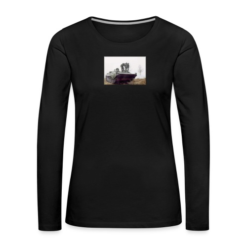 bwp2 - Koszulka damska Premium z długim rękawem