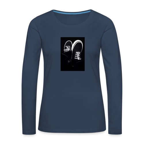 Walk with me - Women's Premium Longsleeve Shirt