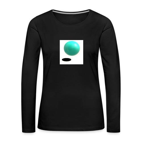sing - Camiseta de manga larga premium mujer