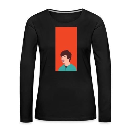 Aron Deksel v.2 Galaxy S6 - Premium langermet T-skjorte for kvinner