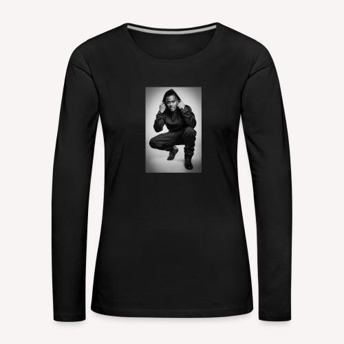 Black M - T-shirt manches longues Premium Femme