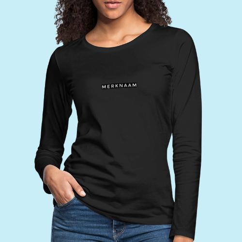 marque - T-shirt manches longues Premium Femme