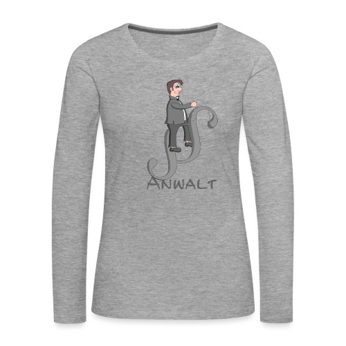 Anwalt - Frauen Premium Langarmshirt