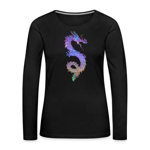 MAGIC DRAGON - Frauen Premium Langarmshirt
