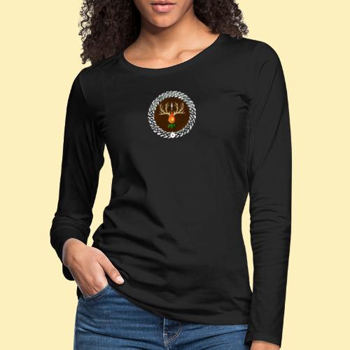 Médaillon de Neved - T-shirt manches longues Premium Femme