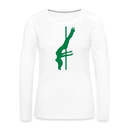 Pole Dance - Maglietta Premium a manica lunga da donna