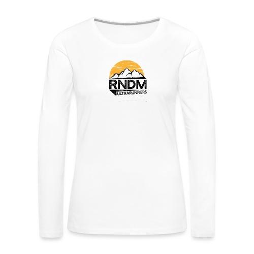 RndmULTRArunners T-shirt - Women's Premium Longsleeve Shirt