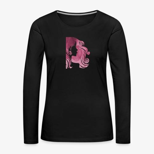 pink-930902_960_720 - T-shirt manches longues Premium Femme
