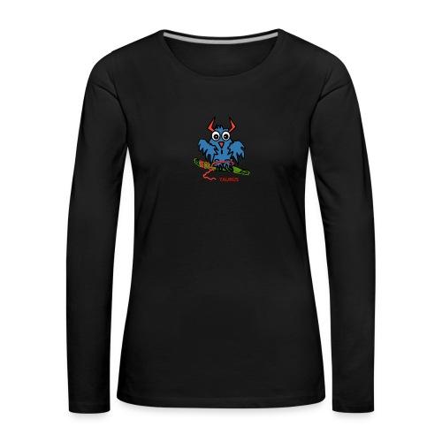 1523968600600 - Långärmad premium-T-shirt dam