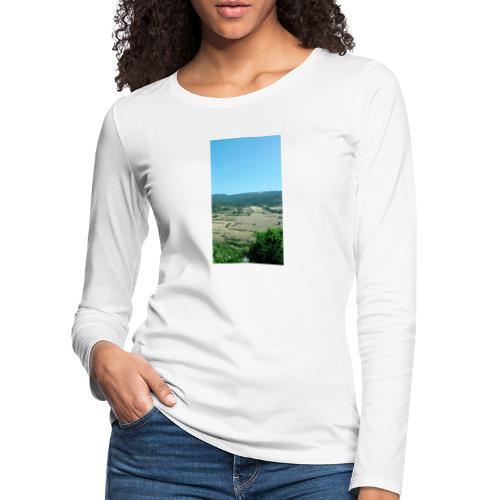 Panorama - Maglietta Premium a manica lunga da donna