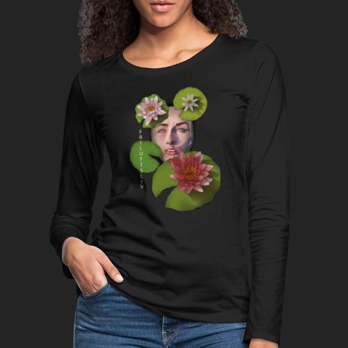 Friluftsliv L'art de se connecter avec la nature - T-shirt manches longues Premium Femme