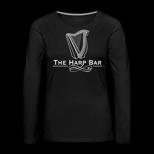 Logo The Harp Bar Paris - T-shirt manches longues Premium Femme