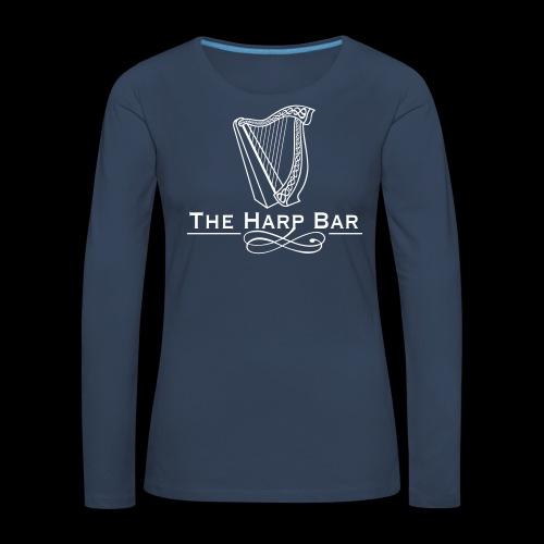 Logo The Harp Bar Paris - T-shirt manches longues Premium Femme