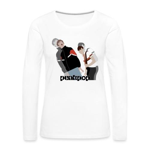 Girls and Boys PunkPop - Maglietta Premium a manica lunga da donna