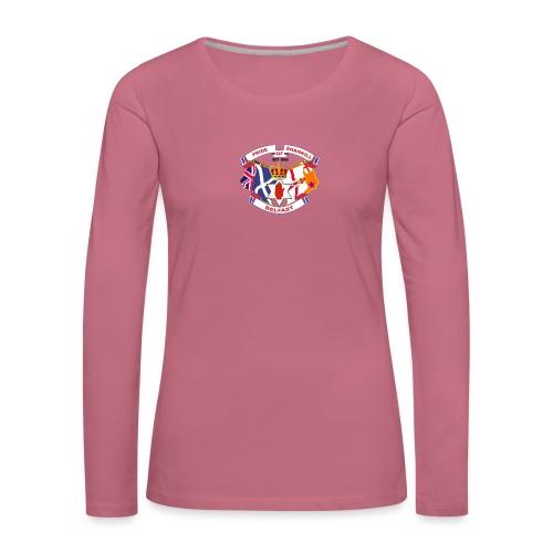 Pride of Shankill - Women's Premium Longsleeve Shirt
