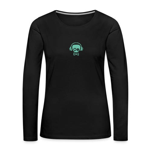 Gamer Design - Dame premium T-shirt med lange ærmer