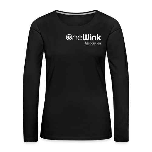 OneWink Association - T-shirt manches longues Premium Femme