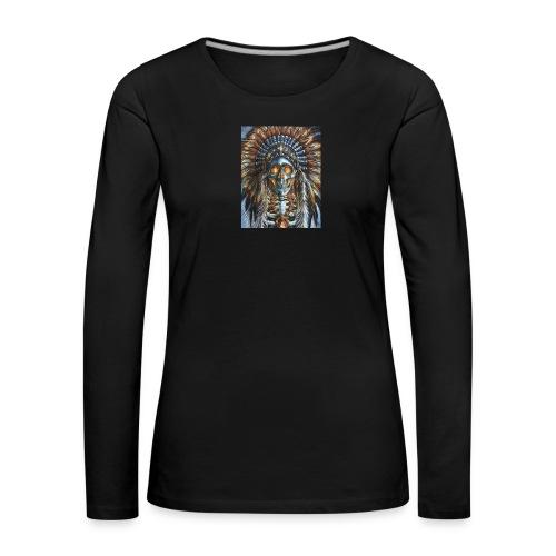 jefe indio - Camiseta de manga larga premium mujer