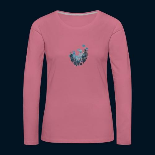 Camicia Flofames - Maglietta Premium a manica lunga da donna