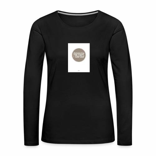 7597DD73 DF61 436F 9725 D1F86B5C2813 - Långärmad premium-T-shirt dam