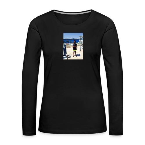 IMG 0717 - Dame premium T-shirt med lange ærmer