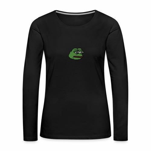 Pepe - Naisten premium pitkähihainen t-paita