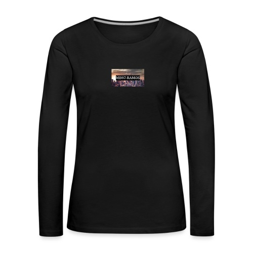City - Frauen Premium Langarmshirt