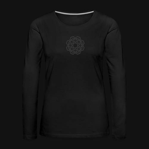 DarkerImage Black on Black (LIMITED) - Women's Premium Longsleeve Shirt