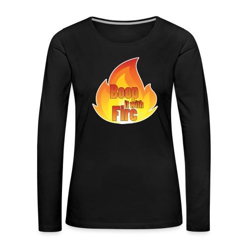 boop - Women's Premium Longsleeve Shirt
