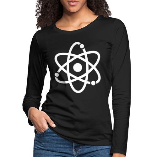 Atommodell - Frauen Premium Langarmshirt