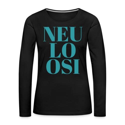 Neuloosi - Women's Premium Longsleeve Shirt