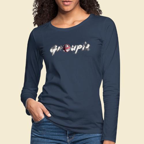 Radball   Cycle Ball Groupie - Frauen Premium Langarmshirt