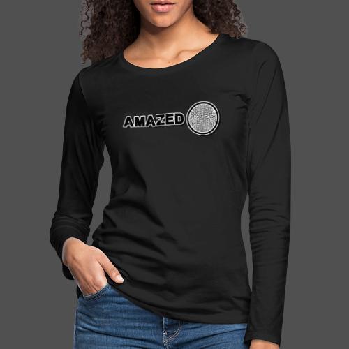 Mousepad - Vrouwen Premium shirt met lange mouwen