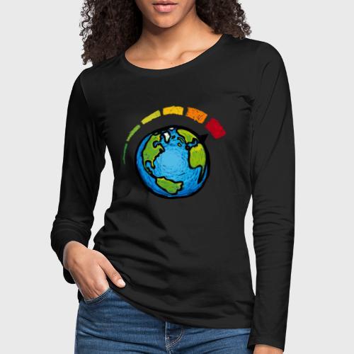 Urgence Climatique - T-shirt manches longues Premium Femme