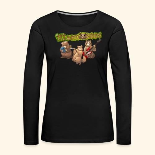 Tshirt groupe - T-shirt manches longues Premium Femme