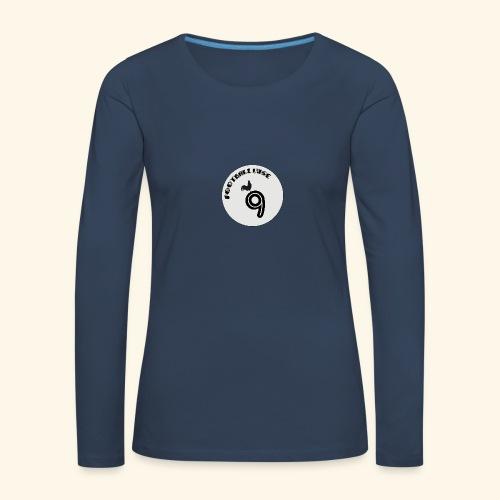 Footballeuse - T-shirt manches longues Premium Femme