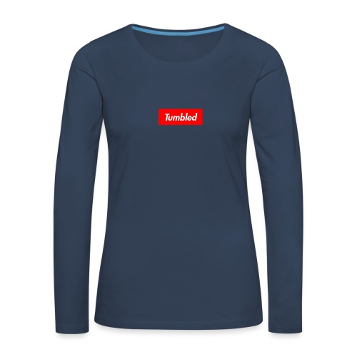 Tumbled Official - Women's Premium Longsleeve Shirt