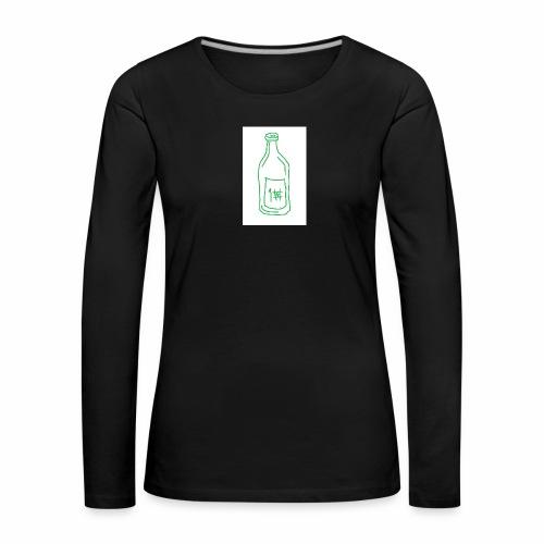 Alkoholi - Naisten premium pitkähihainen t-paita
