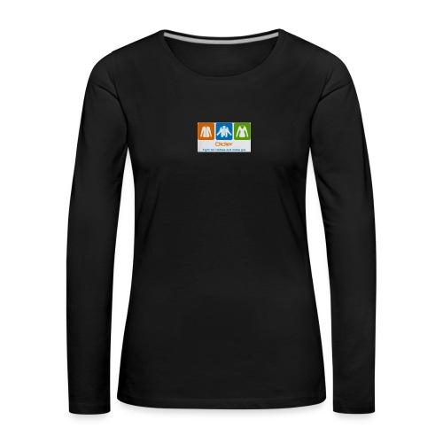 IMG 3596 - Dame premium T-shirt med lange ærmer
